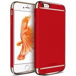 Husa Baterie Ultraslim iPhone 6/6s, iUni Joyroom 2500mAh, Red