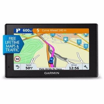 "GPS Garmin DriveSmart 51 LMT-D EU diagonala 5.0"" harta Full Europe GDriveSmart51LMTDEU"