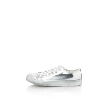 Pantofi sport argintii