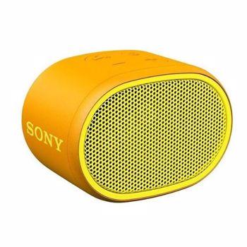 Boxa portabila Sony SRSXB01Y Rezistenta la stropire Extra Bass Bluetooth Hands Free Autonomie 6 ore Yellow SRSXB01Y.CE7