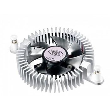 Cooler DeepCool CHIPSET placa video, Aluminiu, Hydro Bearing, dimensiuni Fan ?50x10mm, Fan Speed 360