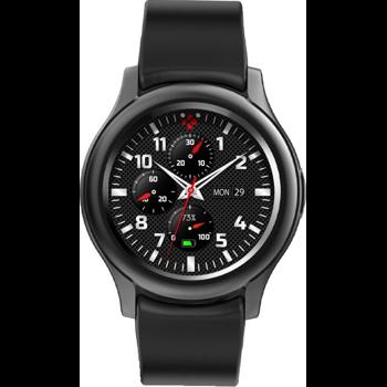 Smartwatch MyKronoz ZeRound 3 Full Amoled, Rezistent la apa IP67, Negru