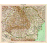 Harta Romania Mare 1929