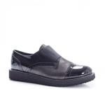 Pantofi Piele Garto negri casual