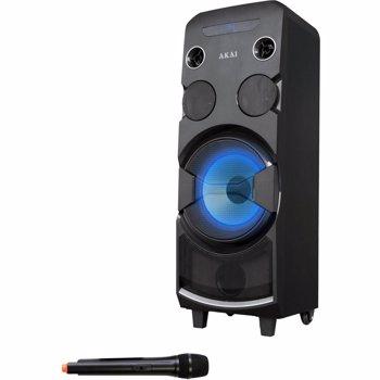 BOXA PORTABILA AKAI ABTS-1002 BLUETOOTH CU USB/CARD 80W BLACK