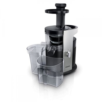 Storcator de fructe si legume cu melc Philips Avance Collection HR188001 200 W Recipient suc 1.5 l Recipient pulpa hr1880/01