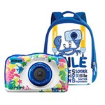 Aparat foto Compact Nikon Coolpix W100 13.2MP CMOS Marine + Backpack Kit vqa014k001