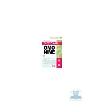 Dictionar de omonime (Petcu Abdulea)