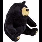 MomKi Pluș urs negru, 15 cm