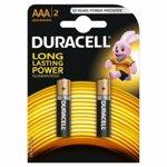 Baterii Basic AAA, 2 bucăți, Duracell