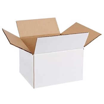Cutie carton 300x200x210, alb, 3 straturi CO3, 435 g/mp