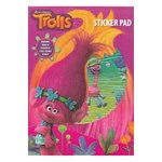 Trolls Carte cu stickere (Sticker Pad)