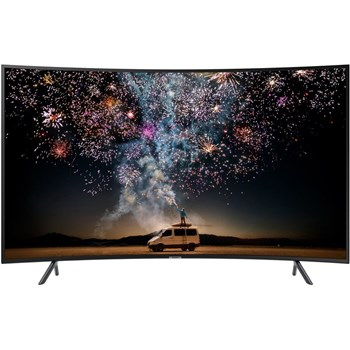 Televizor curbat LED Smart Samsung UE49RU7302KXXH, diagonala 123 cm, Ultra HD / 4K, negru