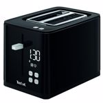 Prajitor de paine Smart'n Light , 850W, ecran digital, 3 functii dedicate, 7 niveluri de rumenire, Negru