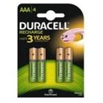 Acumulatori Duracell AAAK4, 750mAh, 4 bucati