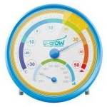 Termometru si Higrometru U-Grow U201TH-P, Albastru