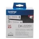 Banda Continua Hartie Etichete Brother DK22251 62mm x 15m