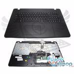 Tastatura Asus 90NB0601 R31UI0 neagra cu Palmrest negru