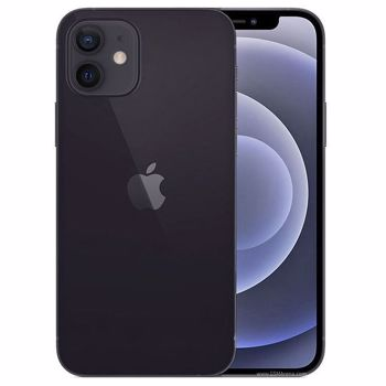 "Telefon Mobil Apple iPhone 12, Super Retina XDR OLED 6.1"", 64GB Flash, Camera Duala 12 + 12 MP, Wi-Fi, 5G, iOS (Negru)"