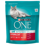 Hrana uscata pentru pisici Purina One, Sterilcat, Vita, 800g
