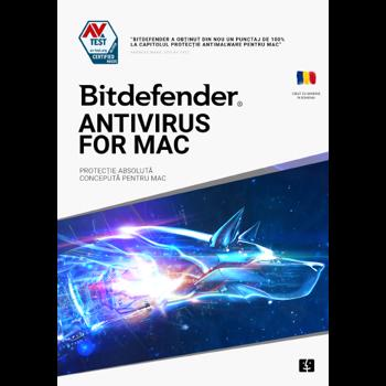 Antivirus Bitdefender Antivirus pentru Mac 2020, 1 Dispozitiv, 3 Ani, Licenta noua, Electronic