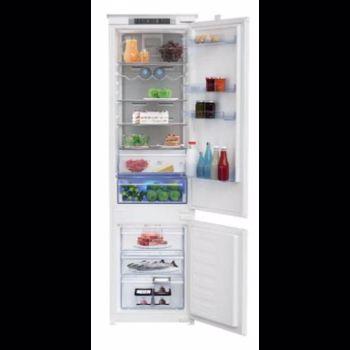 Combina frigorifica incorporabila Beko BCNA306E3S, A++, 215+69 litri, No Frost, alb