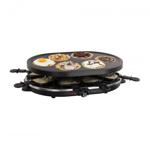 Gratar Raclette si aparat pentru mini-clatite 2 in 1 DomoClip DOC188, 1200W, 8 persoane, 6 mini-clatite