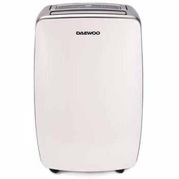 Dezumidificator Daewoo DDH20W, 20 l/24h, 350 W, capacitate recipient 5.5 litri, filtru lavabil, timer 24h, suprafata dezumidificare 40 mp, display Led