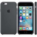 Husa de protectie Apple pentru iPhone 6s, Silicon, Charcoal Gray