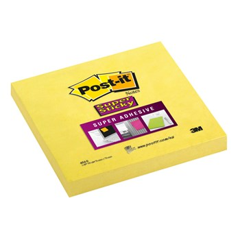 Notite adezive 3M Post It Super Sticky 654-S