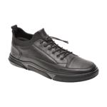Pantofi OTTER negri, 6002, din piele naturala