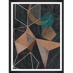 Tablou Framed Art Copper Geometry II