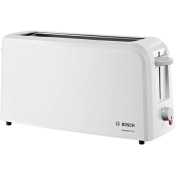 Bosch Prajitor de paine TAT3A001, 980 W, 2 felii de paine, Alb