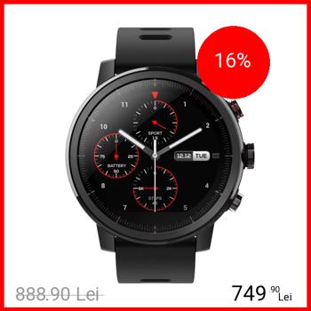 Smartwatch Amazfit Stratos MultiSport GPS Negru