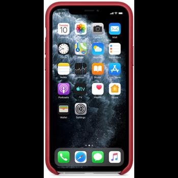 Protectie Spate Apple MWYF2ZM/A pentru Apple iPhone 11 Pro (Rosu)