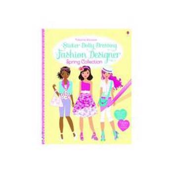 Sticker Dolly Dressing Fashion Designer Spring Collection, editura Usborne Publishing