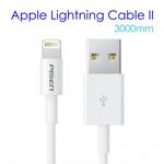 Apple Cablu incarcare lightning 3 Metri Pisen