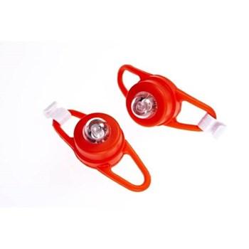 Semnalizatoare luminoase pentru carucioare si biciclete Proviz rosu