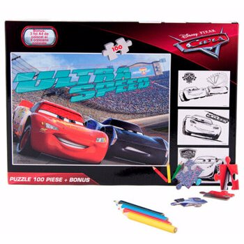 Puzzle, Cars, 100 piese