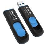 USB Flash Drive ADATA DashDrive UV128 64GB USB 3.0 Negru-Albastru