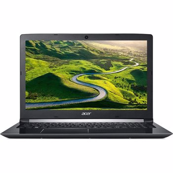 Notebook / Laptop Acer 15.6'' Aspire A515-41G, FHD, Procesor AMD FX-9800P (2M Cache, up to 3.6 Ghz), 8GB DDR4, 256GB SSD, Radeon RX 540 2GB, Linux, Black