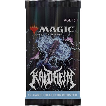Magic the Gathering Kaldheim Collector Booster Pack