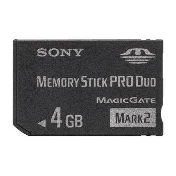 Card memorie Sony Memory Stick Pro Duo 4 GB MSMT4G