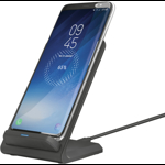 Incarcator wireless GSM Trust Expo 10 Wireless Charger Black, Fast Charge
