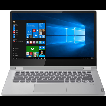 "Laptop 2 in 1 Lenovo Ideapad C340-14API, AMD Ryzen 3 3200U, 14"", Full HD, Touch, 4GB, 256GB SSD M.2, Radeon Vega 3, Windows 10, Platinum Grey"