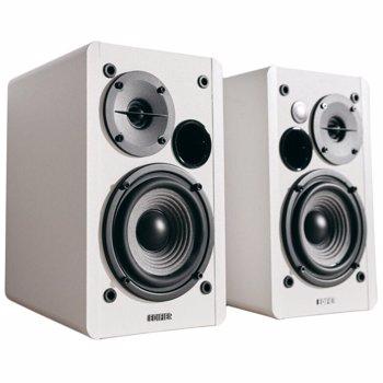 "BOXE EDIFIER 2.0, RMS:  42W (2 x 21W), telecomanda wireless, volum, bass, treble, white, ""R1280Tw""(include timbru verde 5 leu)"