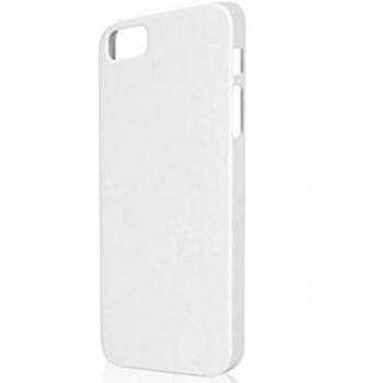 Husa Xqisit iPlate Matt pentru iPhone 5S White