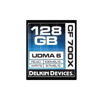 Delkin CF 128GB 700X - Card de memorie UDMA 6