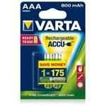 Varta - Acumulatori reincarcabili AAA R3 800 mAh, blister 2 buc.