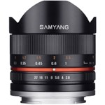 Samyang 8mm F2.8 Fisheye II Sony E black - RS125013872